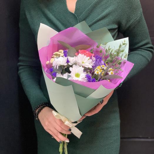 Букет-комплимент «вечерний»: букеты цветов на заказ Flowwow