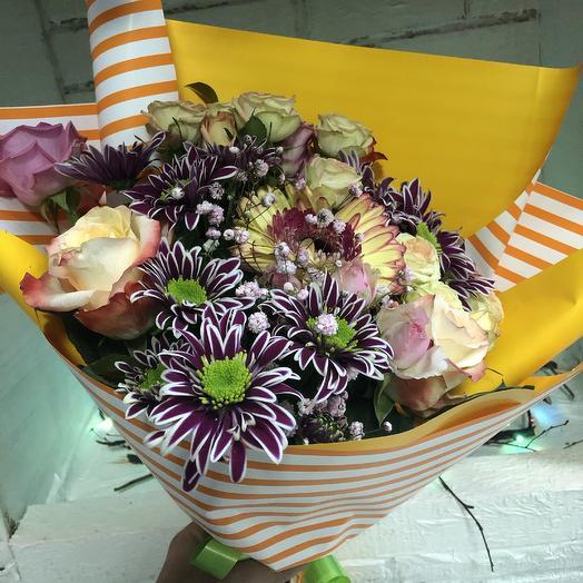 Букет «Подари счастье»: букеты цветов на заказ Flowwow