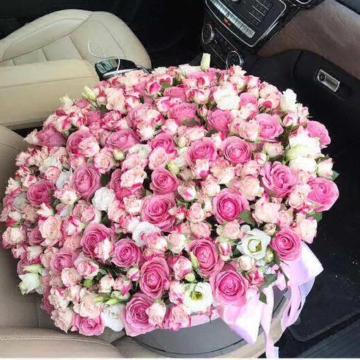 Шикарная коробочка: букеты цветов на заказ Flowwow