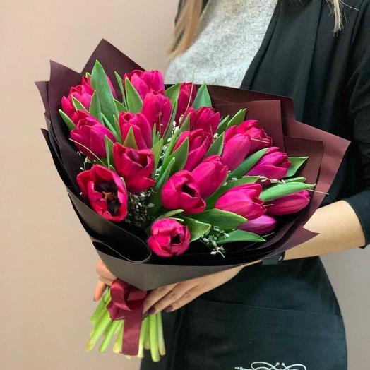 Малиновый поцелуй: букеты цветов на заказ Flowwow
