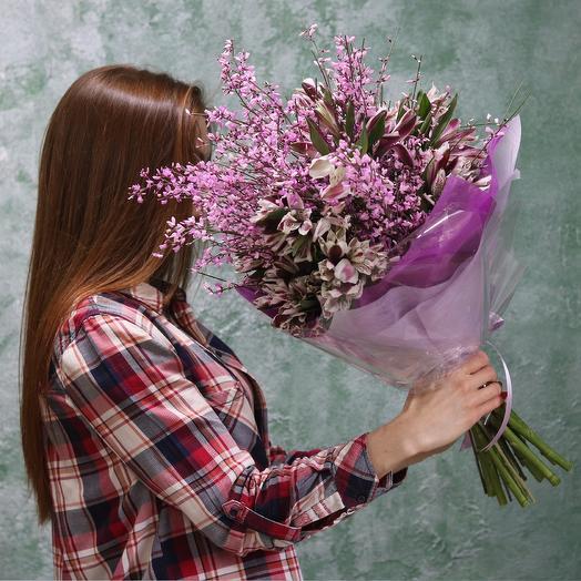 Ароматный Джинстер: букеты цветов на заказ Flowwow
