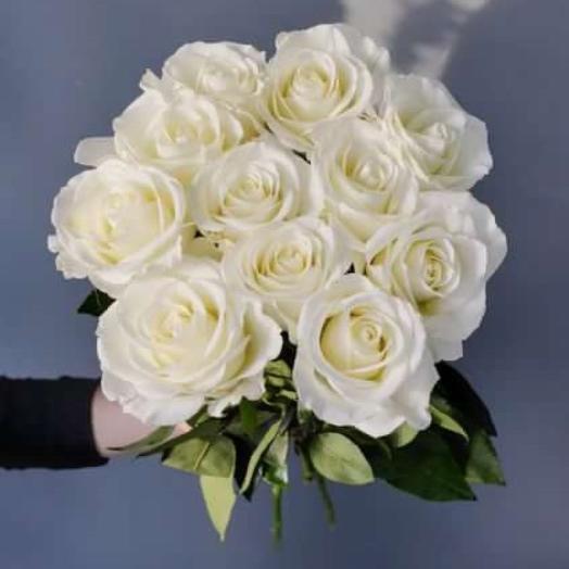 Кипенно белые Розы