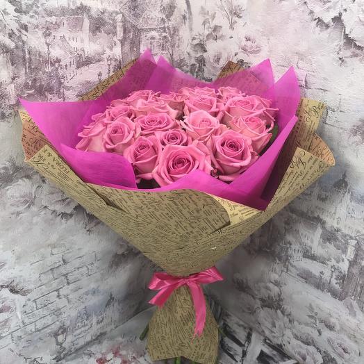 Букет из роз Аква 29 шт