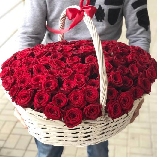 «Корзина с розами»