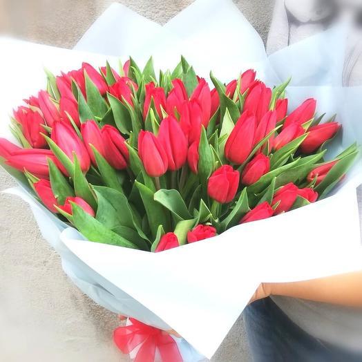 51 tulip bouquet