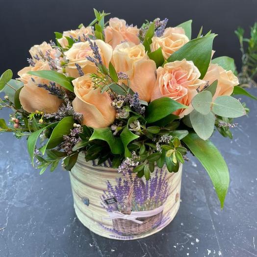 Цветы в коробке Елисейские поля