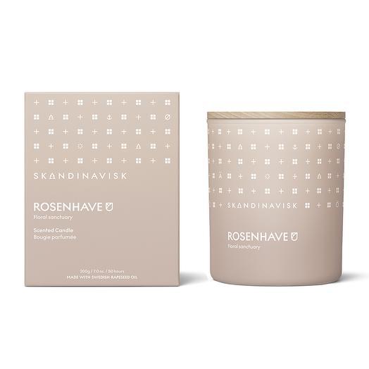 Свеча ароматическая rosenhave с крышкой, 200 г (новая)  S K A N D I N A V I S K SK20110
