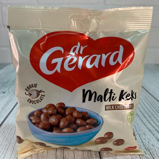 Др. Джерард мальти кекс хрустящие шарики в молочном шоколаде