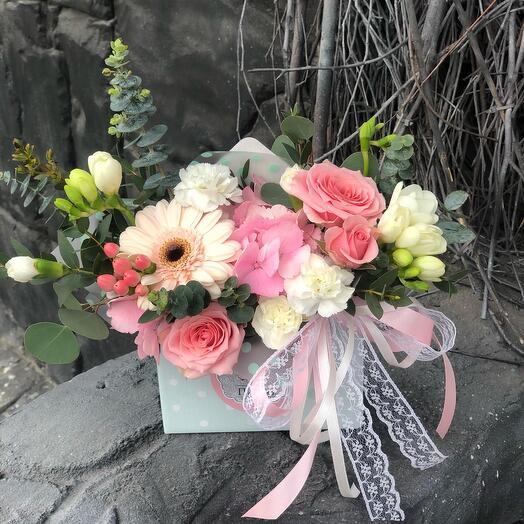 Цветы в конвертике