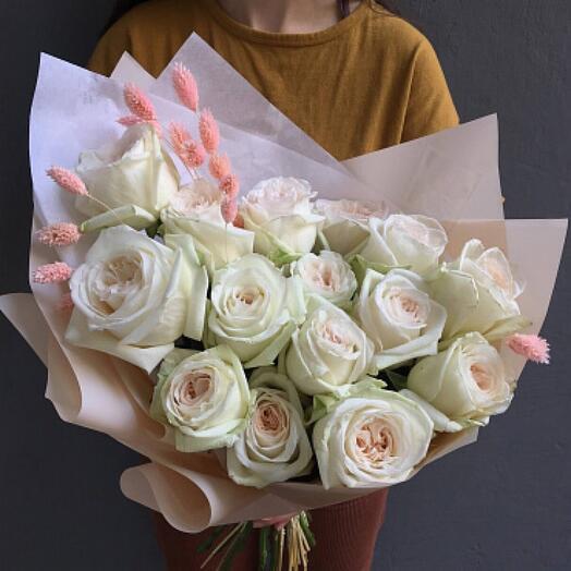 Букет цветов «Французский шик»