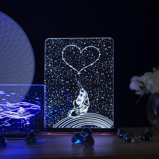 Лампа-ночник Созвездие любви