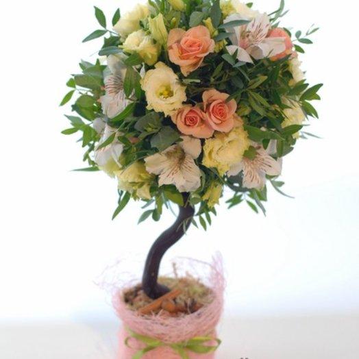 Дерево из цветов: букеты цветов на заказ Flowwow