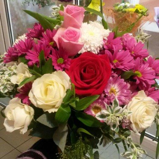 БЦ-160187 Для лучшей девушки на свете!: букеты цветов на заказ Flowwow