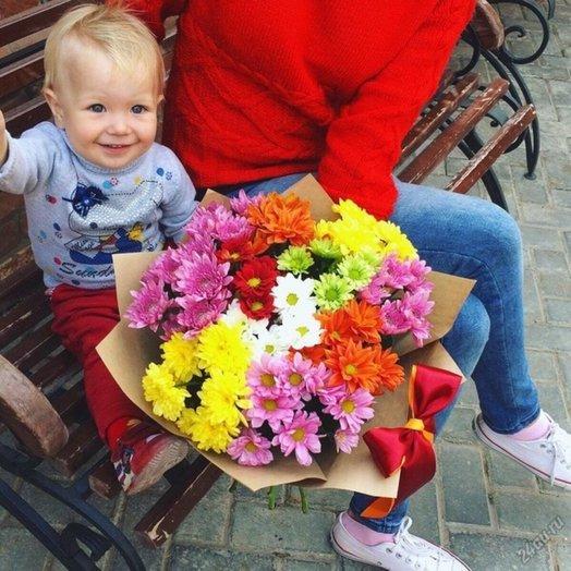 Букет Искра: букеты цветов на заказ Flowwow