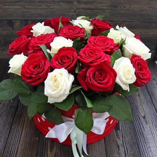 Шляпная коробка De uxe (Россия): букеты цветов на заказ Flowwow