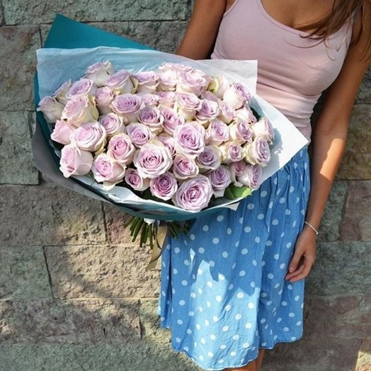 Лиловый свет: букеты цветов на заказ Flowwow