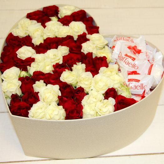 """Цветочная коробочка """"С любовью"""""""