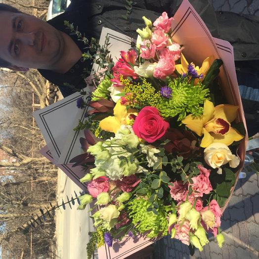 Букет Нимфа: букеты цветов на заказ Flowwow