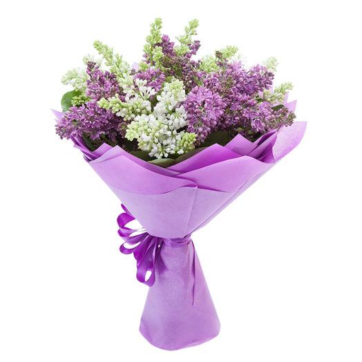 Нежная сирень: букеты цветов на заказ Flowwow