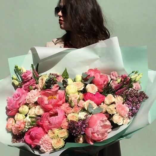 Роскошь пионов: букеты цветов на заказ Flowwow