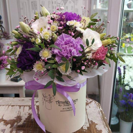 Букет в коробке Весенний: букеты цветов на заказ Flowwow