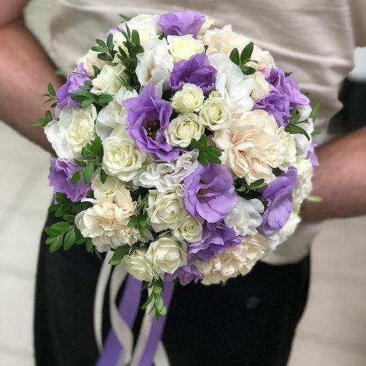 """Букет для невесты """"Цветочный рай"""""""