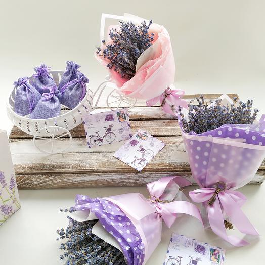 Лавандин: букеты цветов на заказ Flowwow