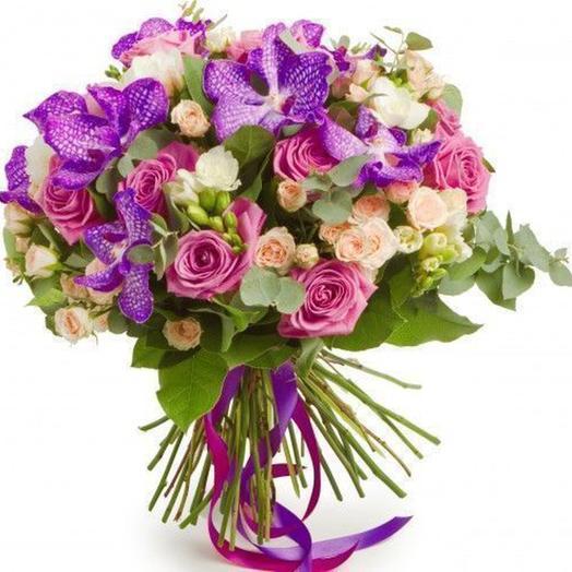 """Букет """"Аметист"""": букеты цветов на заказ Flowwow"""