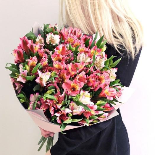25 Альстромерий МИКС: букеты цветов на заказ Flowwow