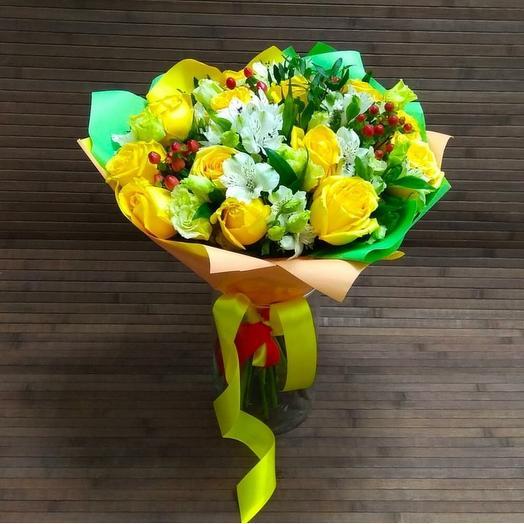 Лимончик: букеты цветов на заказ Flowwow