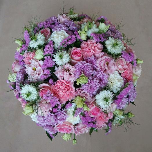 Необъятная нежность: букеты цветов на заказ Flowwow