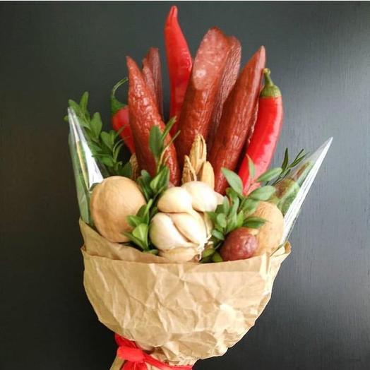 Букет ассорти  «Для мужской»: букеты цветов на заказ Flowwow