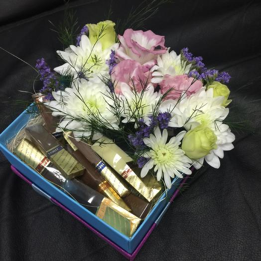 Кофе-брейк: букеты цветов на заказ Flowwow