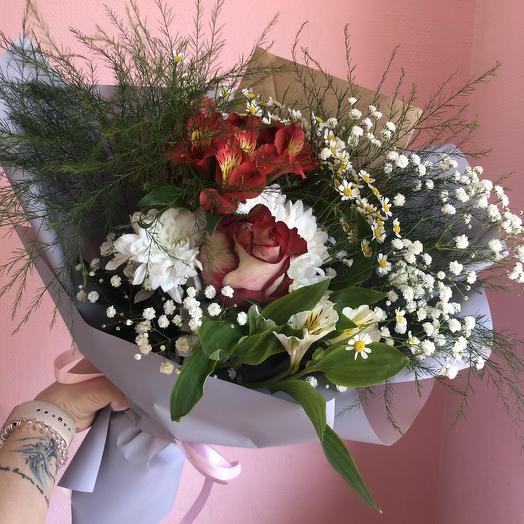 Букет 96: букеты цветов на заказ Flowwow