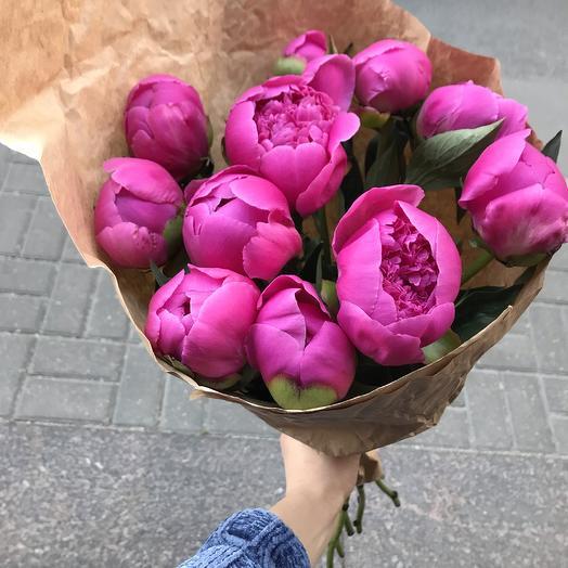 Шикарные пионы для моей королевы: букеты цветов на заказ Flowwow