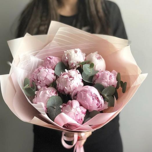 Итальянские пионы: букеты цветов на заказ Flowwow