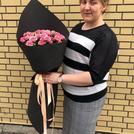 Black-pinks: букеты цветов на заказ Flowwow