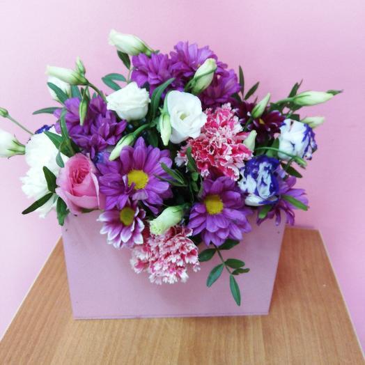 Розовое письмо: букеты цветов на заказ Flowwow