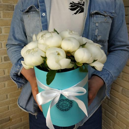 Tiffany  Co Pions: букеты цветов на заказ Flowwow