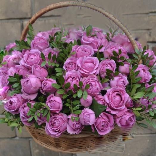 Корзина наслаждения: букеты цветов на заказ Flowwow