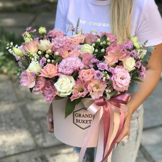 Композиция нежная: букеты цветов на заказ Flowwow
