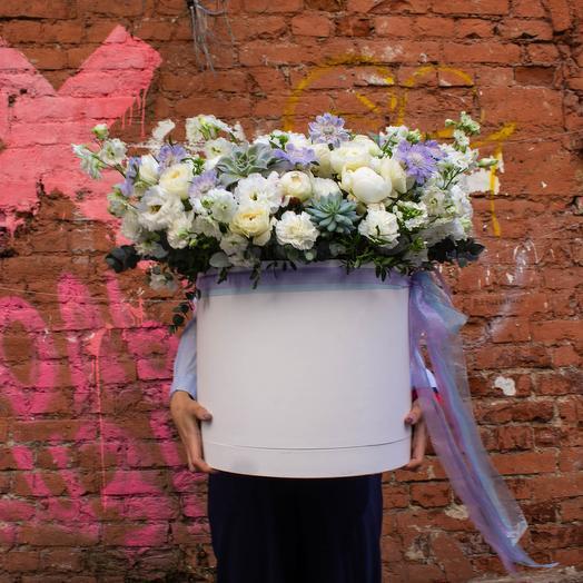"Коробка ""Бомба"": букеты цветов на заказ Flowwow"