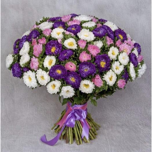 Астры: букеты цветов на заказ Flowwow