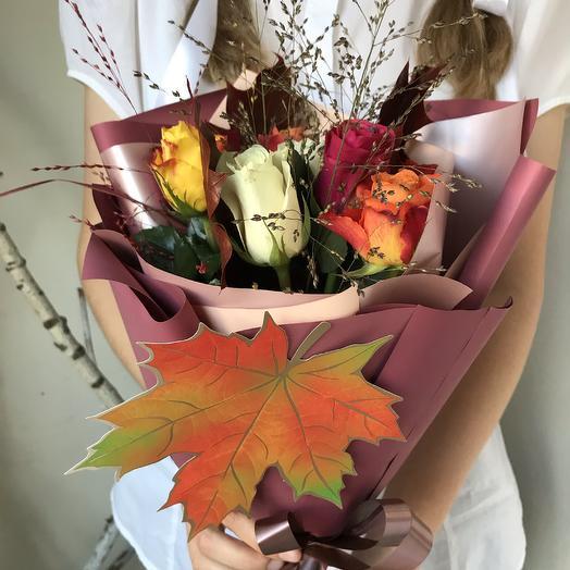 Первоклассный букет 15: букеты цветов на заказ Flowwow