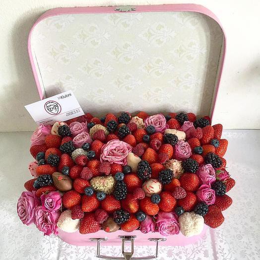 Шкатулка VINTAGE L: букеты цветов на заказ Flowwow