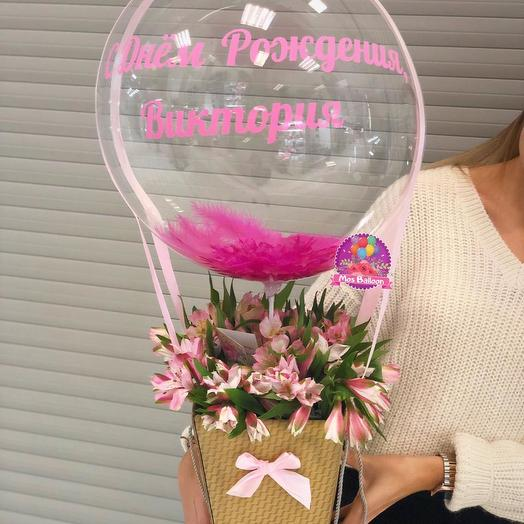 "Коробочка ""Мэри"": букеты цветов на заказ Flowwow"
