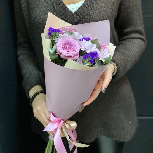 Мини-букет «суфле»: букеты цветов на заказ Flowwow