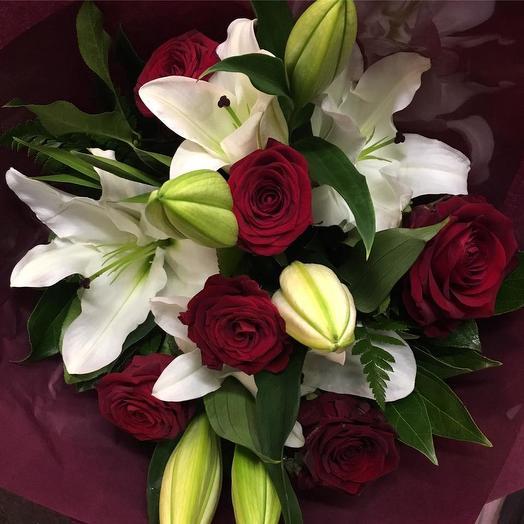 "Букет "" Восторг"": букеты цветов на заказ Flowwow"