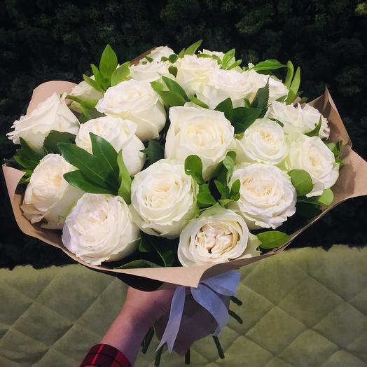 Облако из роз