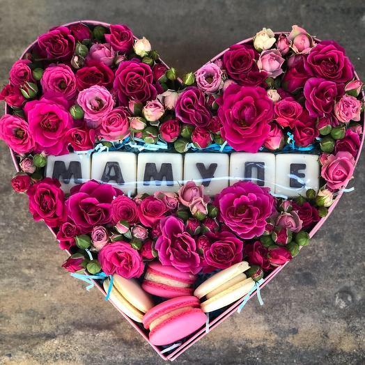 Мамуле ✅🌸: букеты цветов на заказ Flowwow